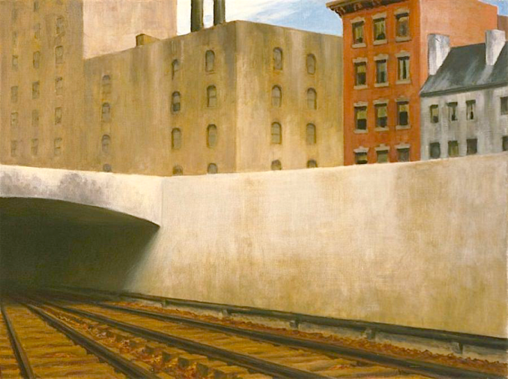 """Approaching a City"" Edward Hopper"